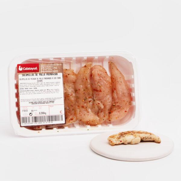 Solomillo de pollo primavera Cárnicas Calatayud