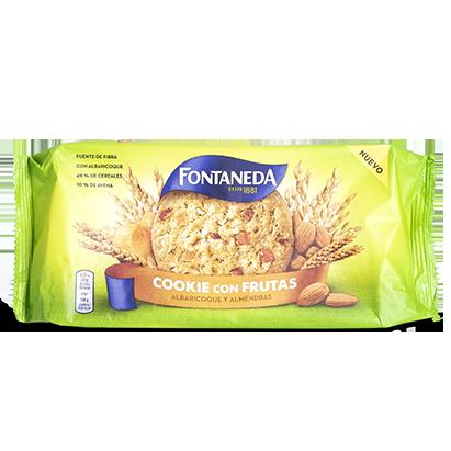 Cookies con frutos Fontaneda