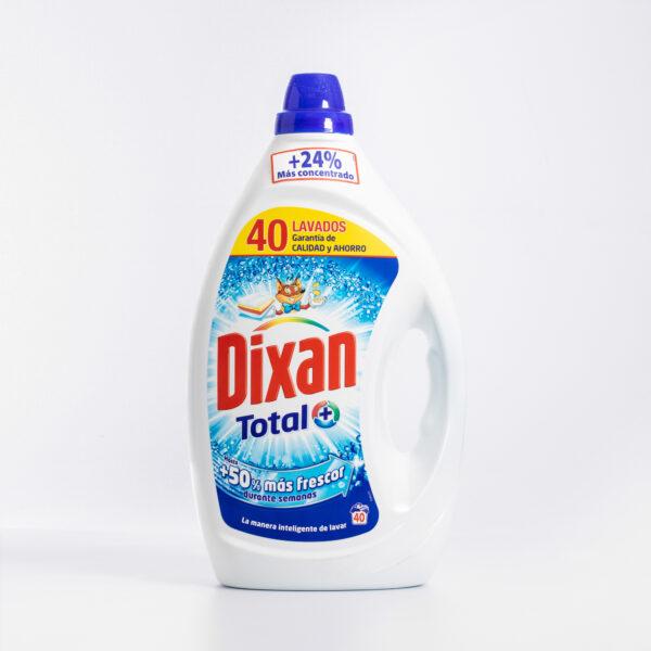 Detergente Dixan total