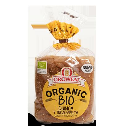 Organic BIO quinoa y espelta