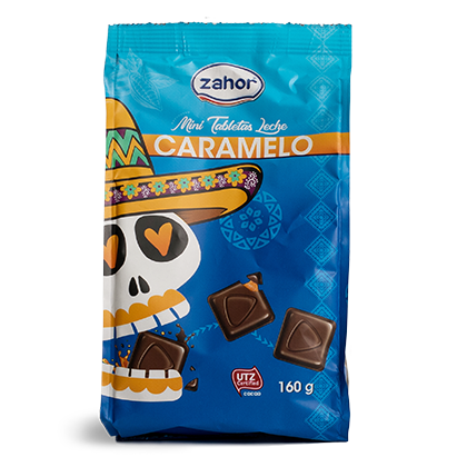 Bombones chocolate rellenos caramelo Zahor