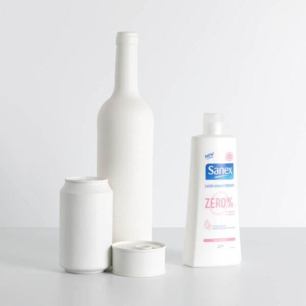 Loción corporal hidratante ZERO % Sanex