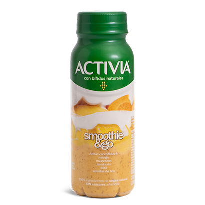 Activia Smoothies go