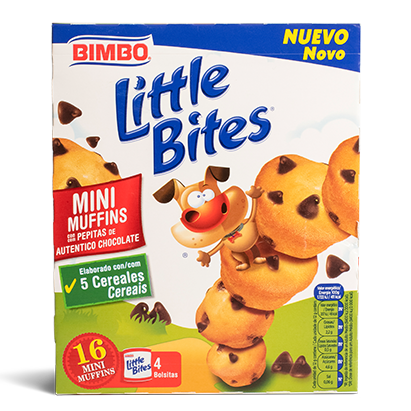 Mini Muffins Little Bites Bimbo