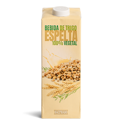 Bebida de trigo espelta Hacendado