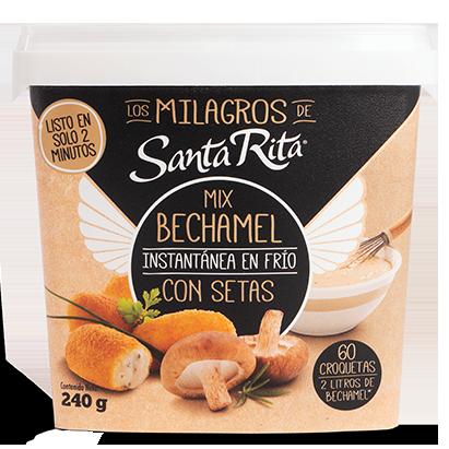 Mix Bechamel con Setas de Los Milagros de Santa Rita
