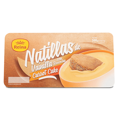 Natillas Carrot Cake Reina