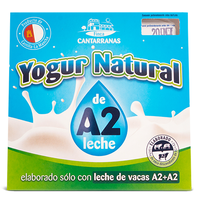 Yogur Natural A2 Finca Cantarranas