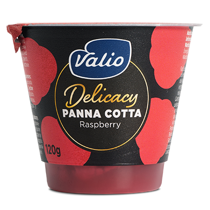 Delicacy Panna Cotta Frambuesa
