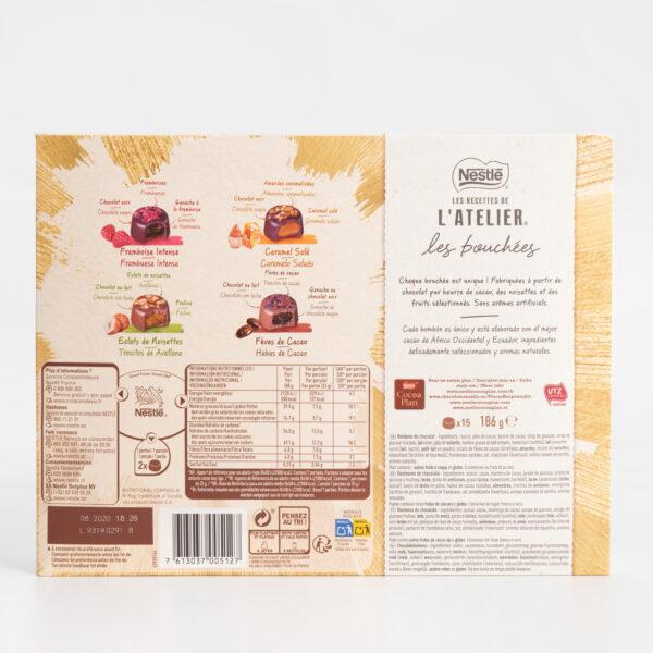 Les Recettes de L'atelier Nestlé ingredientes