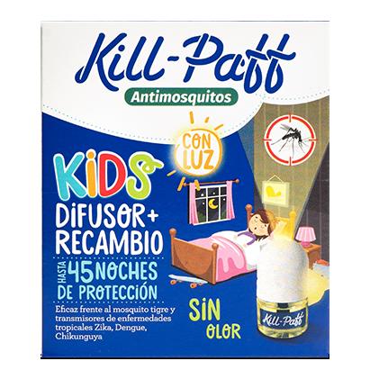 KILL PAFF Antimosquitos Kids Zelnova Zeltia