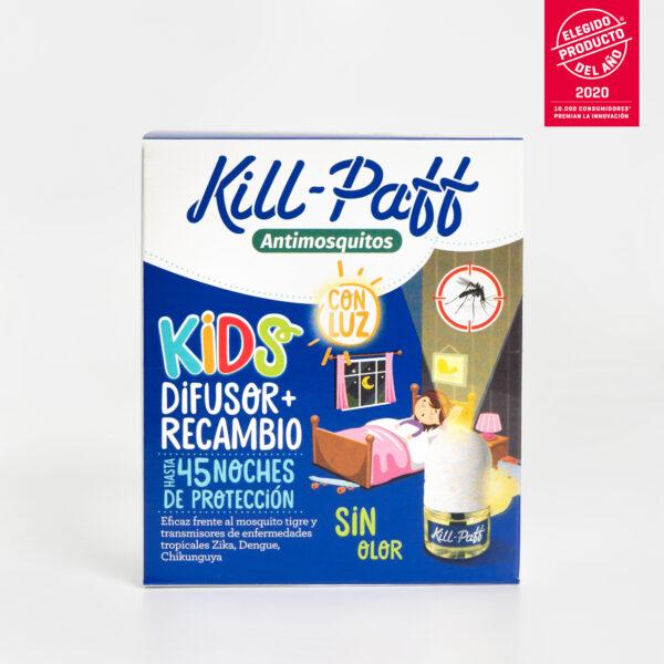 KILL PAFF Antimosquitos Kids Zelnova Zeltia frontal