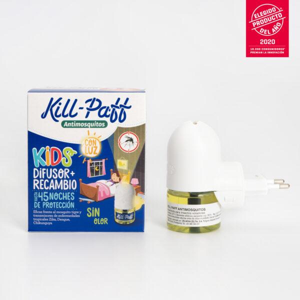 KILL PAFF Antimosquitos Kids Zelnova Zeltia abierto