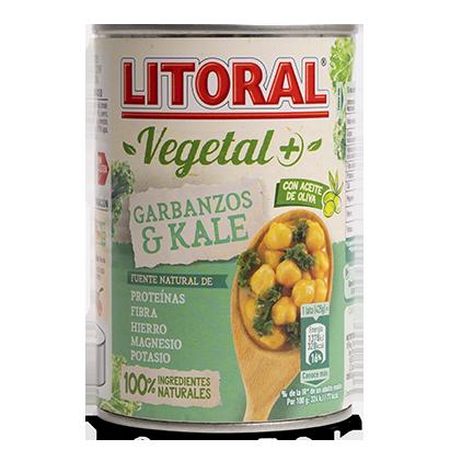 Litoral Vegetal+ Garbanzos y kale