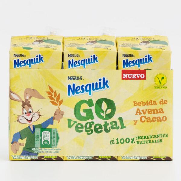 Pack Nesquik Go Vegetal