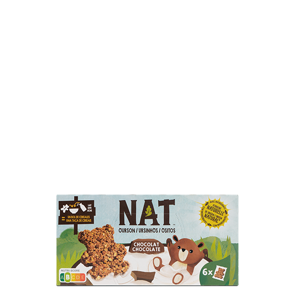 NAT ositos chocolate lineal