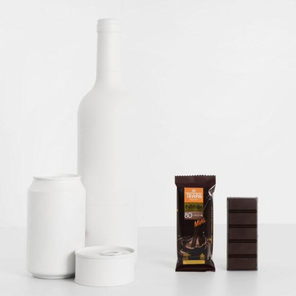 Tamaño Trapa Mini 80% cacao