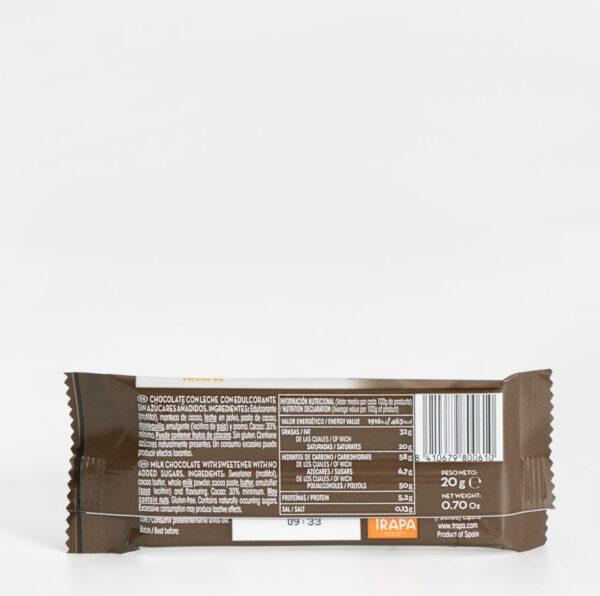 Ingredientes Trapa mini con leche 0% azúcares