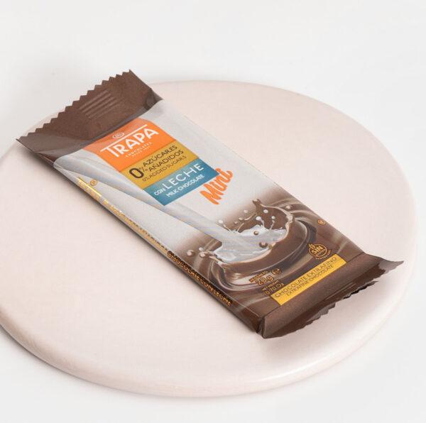 Trapa mini con leche 0% azúcares