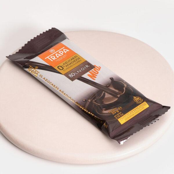 Trapa Mini 80% cacao 0% azúcares