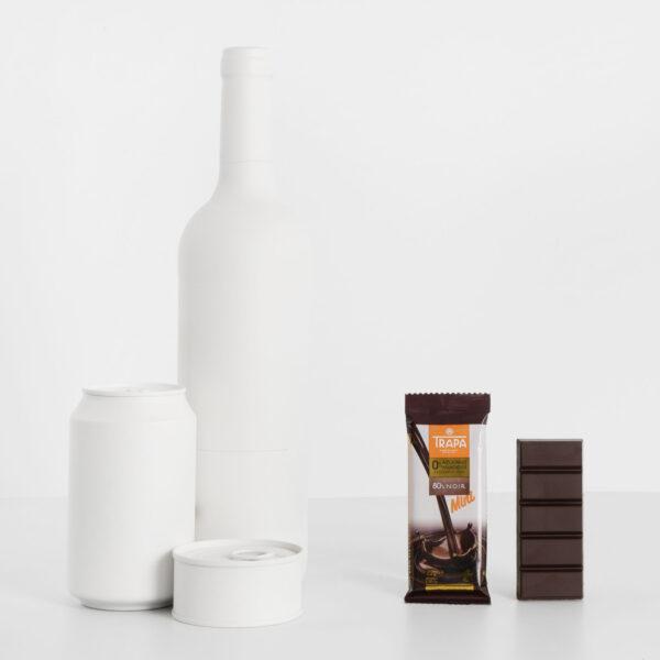 Tamaño Trapa Mini 80% cacao 0% azúcares