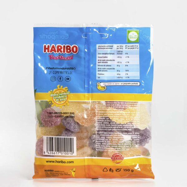 Haribo Tropifrutti Frutal y Pica