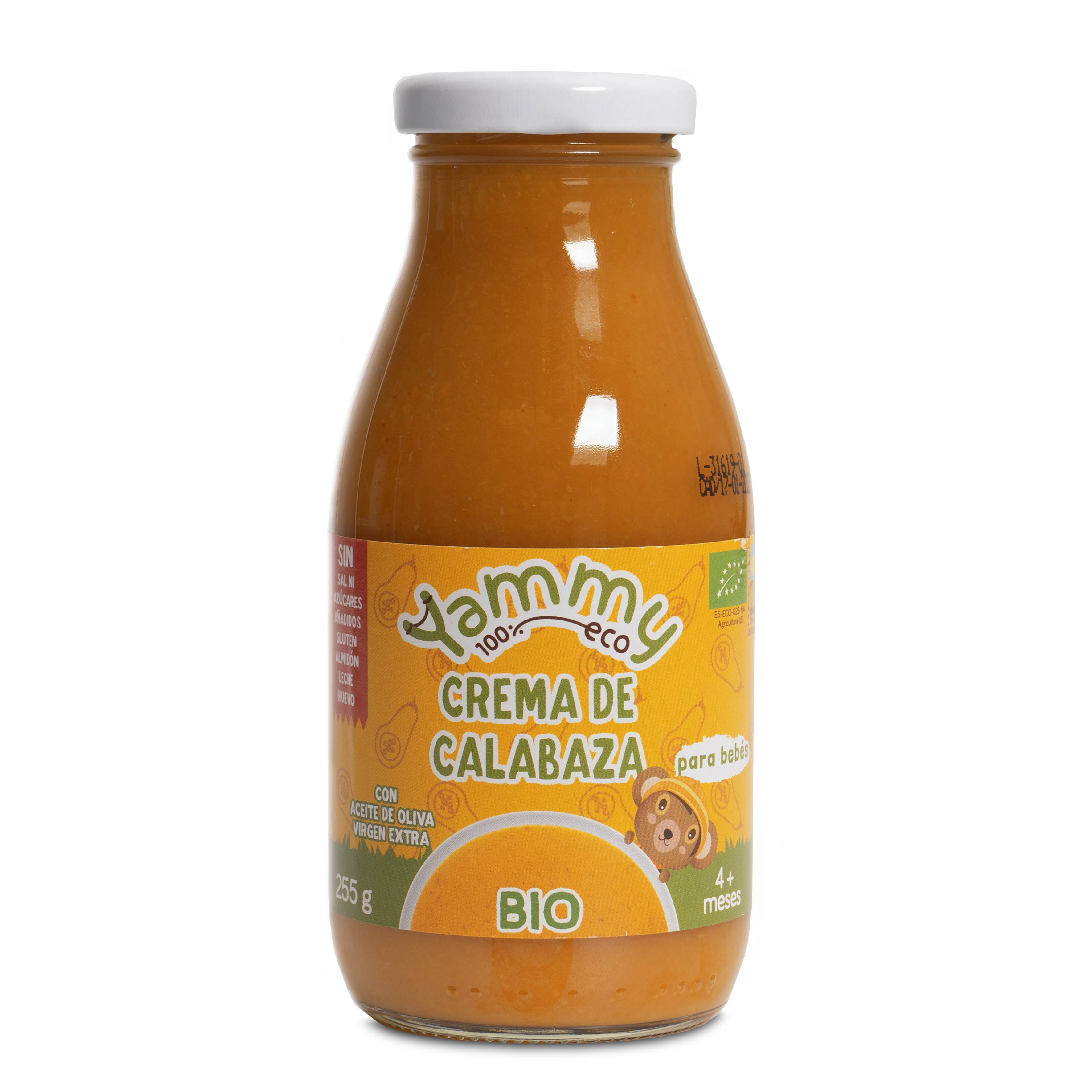 Crema Calabaza 100% ECO Yammy