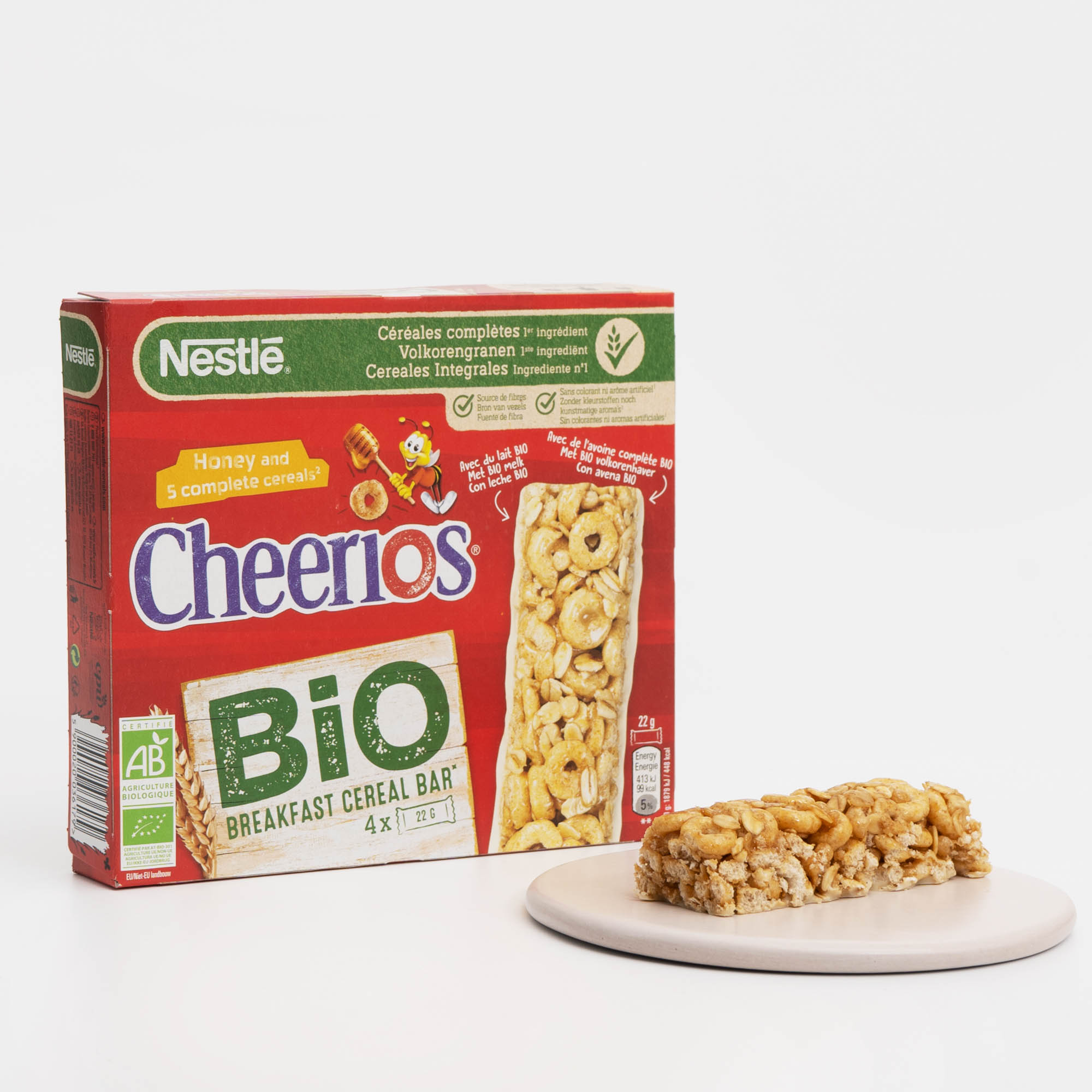 Barritas Cheerios BIO