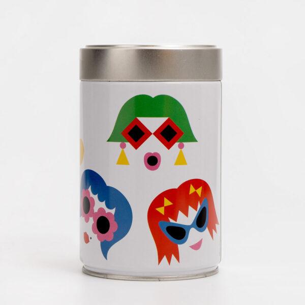 café molido tueste intenso Illy diseño Olimpia Zagnoli