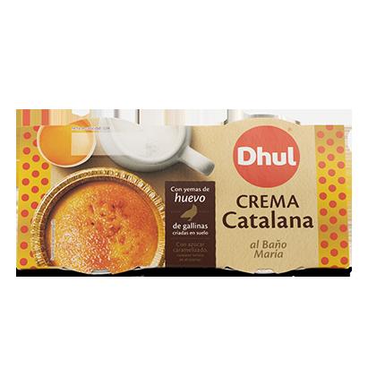 Crema catalana sin gluten Dhul