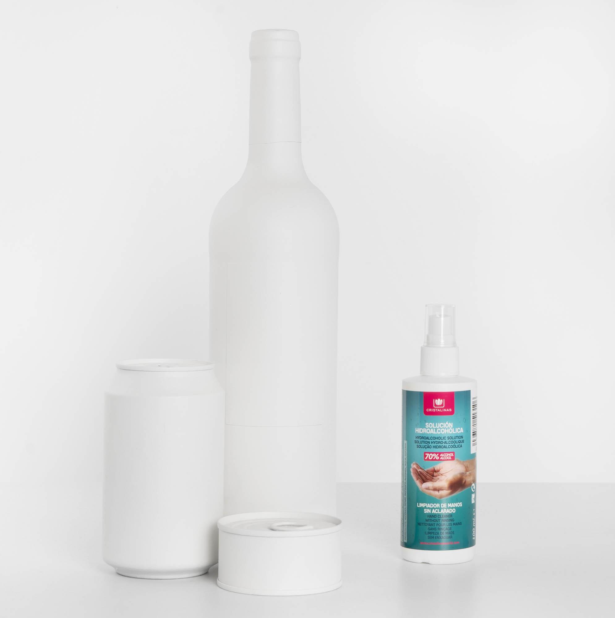 Tamaño Spray Manos Cristalinas