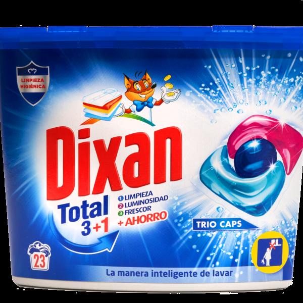 Detergente Dixan Trio caps