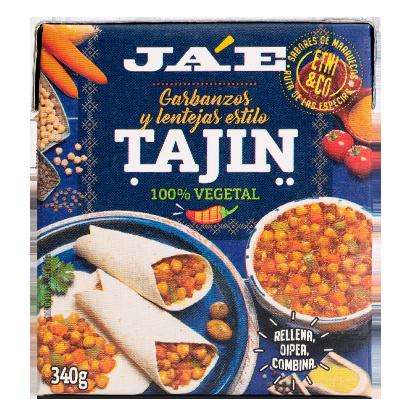 Garbanzos y lentejas estilo Tajin JAE