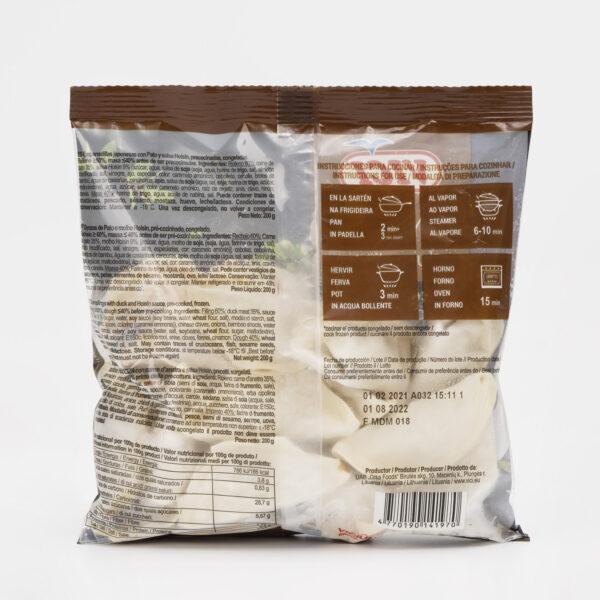 Ingredientes Gyozas de pato y salsa Hoisin Vici