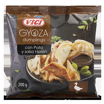 Gyozas de pato y salsa Hoisin Vici