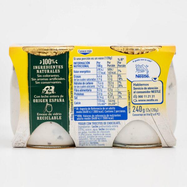 Ingredientes La Lechera Stracciatella yogur cremoso