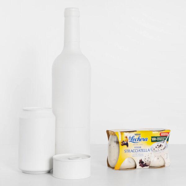 Tamaño La Lechera Stracciatella yogur cremoso