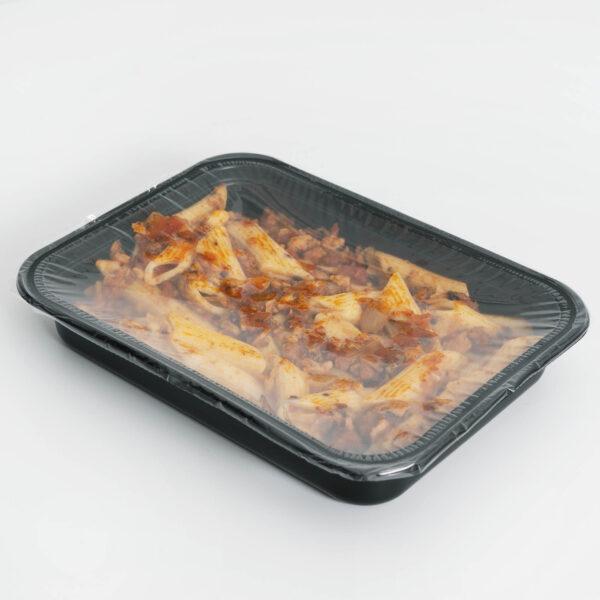 Macarrones con boloñesa vegetal Beplus
