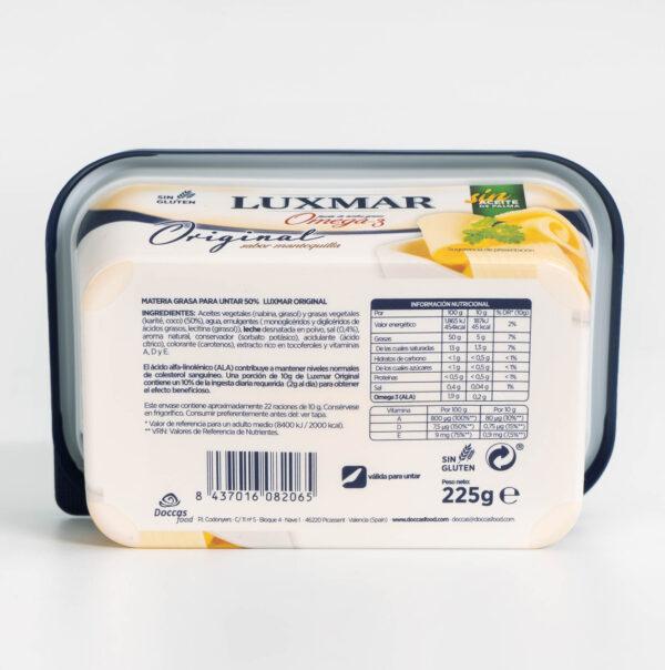 Ingredientes Margarina Luxmar Original