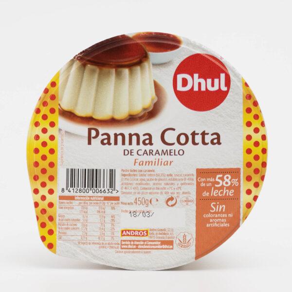 panna cotta caramelo formato familiar Dhul