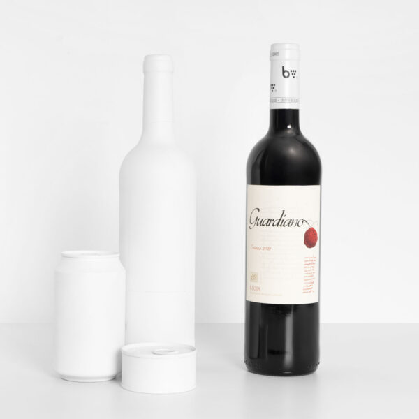 tamaño botella vino tinto crianza 2018 bvino